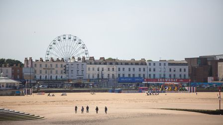 Poet TS Eliot wrote the first lines of The Wasteland in a shelter overlooking Margate Sands (photo: