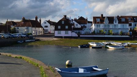 Emsworth looking towards the slipway and quay Photo: Theo Andrae