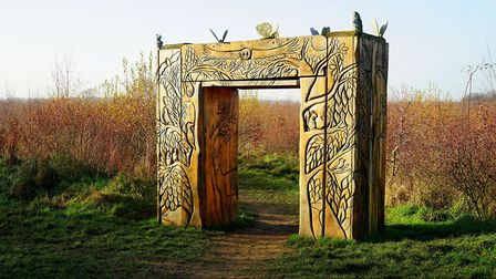 Gateway to the Magical Wood at Heartwood Forest (c) Jason Ballard/Alamy Stock Photo