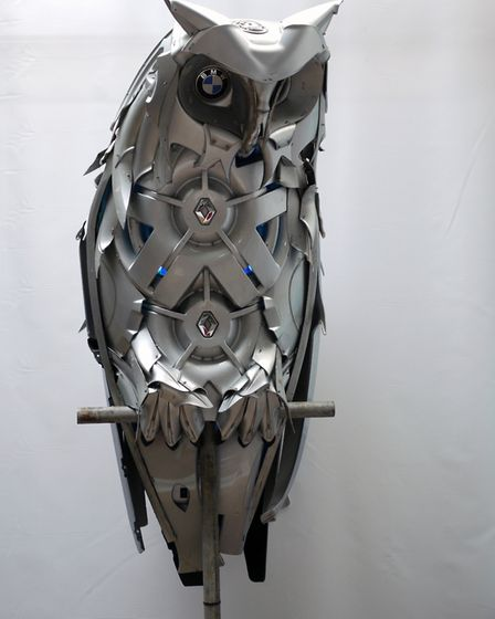 Horned Owl, Hubcap Creatures