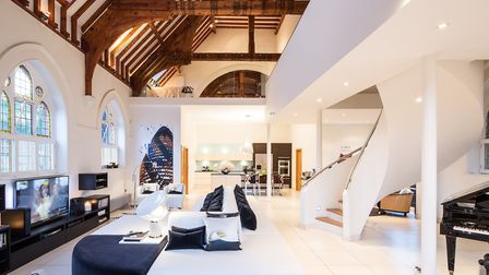 The current owner's favourite space is the main living room, which always gets a wonderful reaction