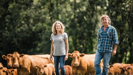 Tim and Jo Budden have been farming at Higher Hacknell Farm since 1985
