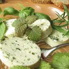 Cheese flavoured with herbs Photo: Cutting the Curd
