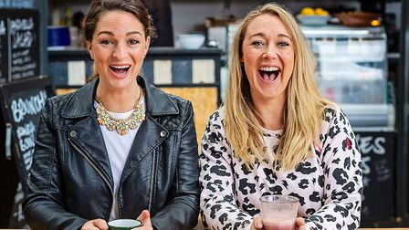 Katy and Laura will put a smile on your face