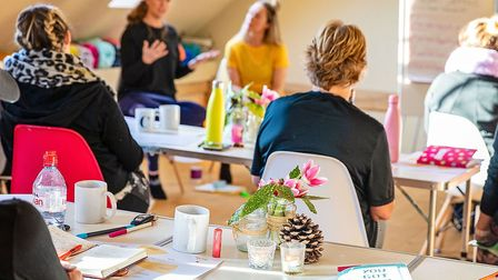 Workshops are geared towards making people happier and calmer