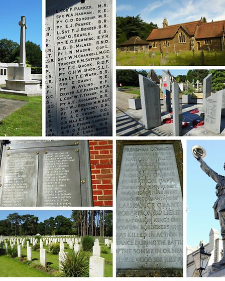 Surrey's war memorials have so many stories to tell (Photos: Stephen Roberts)