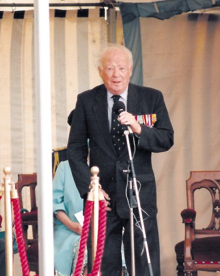 Geoffrey Page unveiling