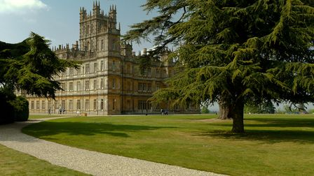 Highclere Castle - better known as Downton Abbey, or Totleigh Towers Photo: Richard Munckton