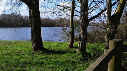To the north and east Yateley is bounded by a landscape of woodland and water: the River Blackwater