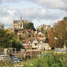 River Arun and cathedral at Arundel (c) Nick Hawkes/Getty Images/iStockphoto