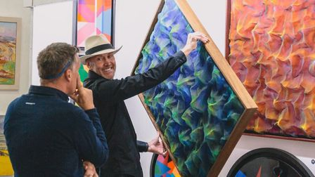 Fraser exhibits around the country and co-founded Sussex Art Fairs