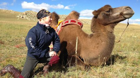 Katy on a three-week tour with horses, camels and kayaks through Zavkhan, Mongolia