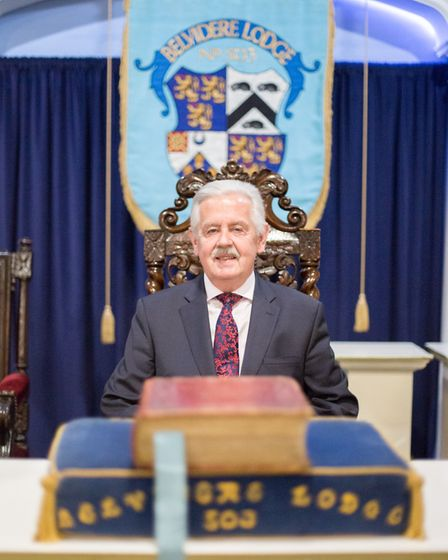 The Provincial Grand Master of East Kent, Neil Johnstone (photo: Manu Palomeque)