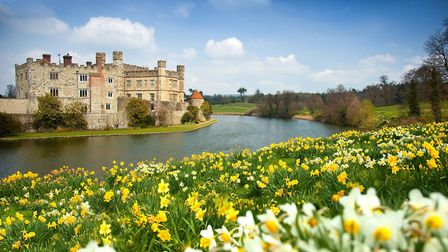 Leeds Castle is affectionately known as the 'Ladies' Castle' because so many future Queens of Englan