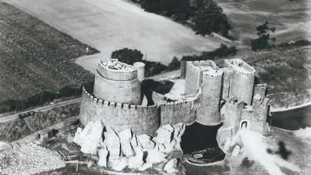 The castle, built for Ivanhoe and used for later films