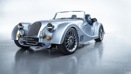 The Morgan Plus Six is the first model to use an all-new bonded aluminium chassis