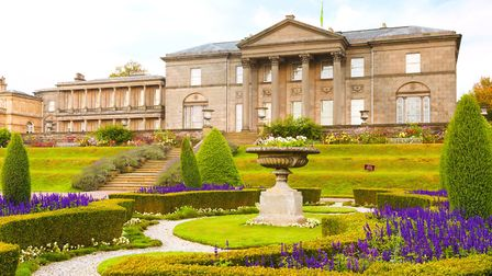The Italian Garden at Tatton Park. It was originally laid out in 1847 and was restored to its origin