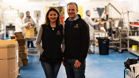 Hannah and Charlie of Cotswold Gold (photo: Chris Jeynes)