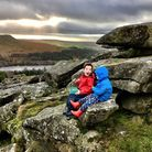 It's lovely to walk on Dartmoor's tors with your family. Photo: Chloe Swift