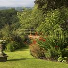 An urn punctuates the view