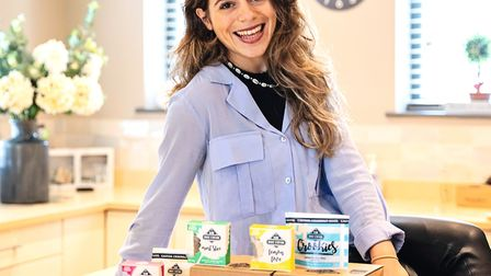 Evie Waxman's raw bakes business was inspired by her travels to Australia. Photo: Sean McCrossan