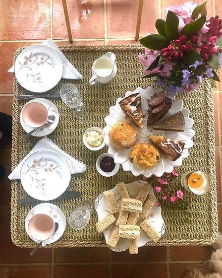 Afternoon tea delivery from The Tea Room