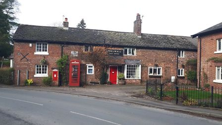 Thelwall's picture-postcard post office
