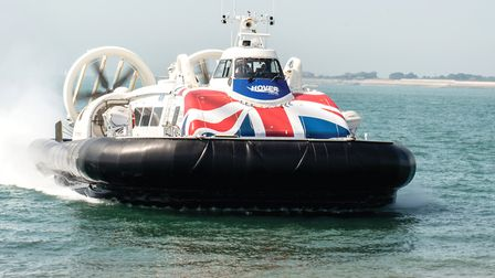 The Solent Flyer Photo: Hovertravel
