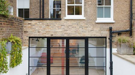Refurbishment of the basement of a large Victorian terraced house to create an open-plan kitchen din