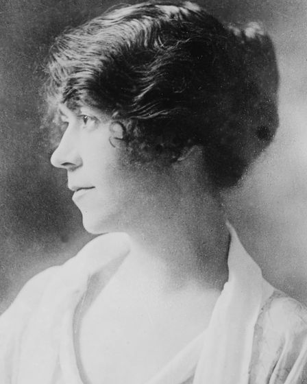 Daisy in 1919, the year The Young Visiters was published