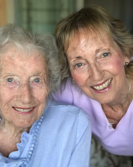 Dame Vera Lynn and daughter Virginia Lewis-Jones