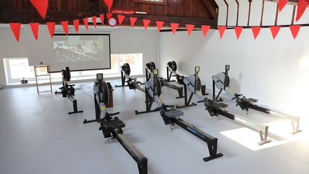 Exmouth Rowing Club has excellent facilities for keeping fit and training. Photo: Tom Hurley