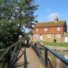 Stoke Lock on the River Wey (Photo by Chris Howard)