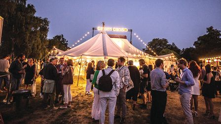 Giffords Circus opening night in London, 2018 (photo: Gem Hall)