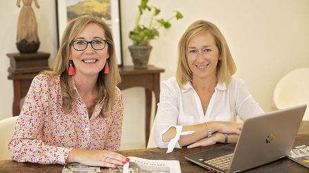 Louise Bates and Clare Armitage, founders of Lifestyle Locations