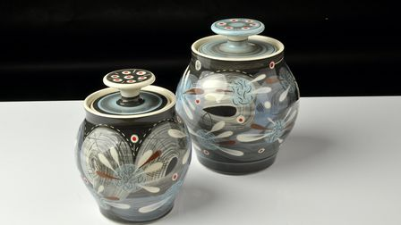 Hand thrown slip decorated earthenware by RAMP. Photo: Roop Johnstone and Alice Hartford