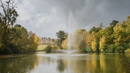 Heckfield Place and its pleasure gardens Photo: Derwood Photography
