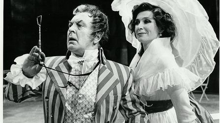 Donald Sinden and Joanna McCallum in The Scarlet Pimpernel, 1985
