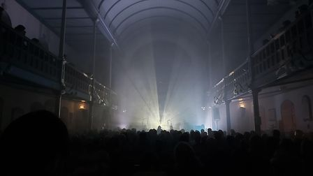 A Winged Victory For the Sullen play St George's Church in Brighton on 5 March - the last show Melti