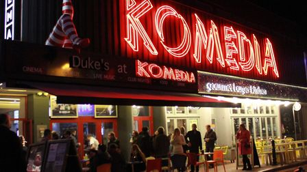 Komedia in Gardner Street, Brighton, one of the city's most popular entertainment venues