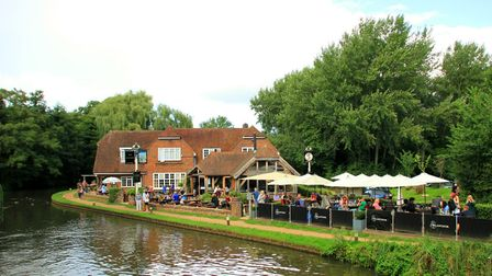 The Anchor, Pyrford Lock (c) milo bostock, Flickr (CC BY 2.0)