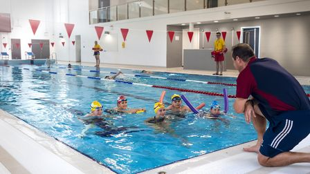 Exeter Schools indoor 25m swimming enables pupils in Years 3 and 4 to enjoy swimming lessons all yea