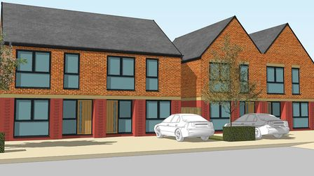 Use your land to develop affordable housing and provide homes for a family to move into. Picture: St