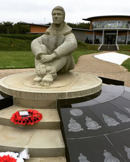 Ashfield is one of The Few remembered at the Battle of Britiain Memorial