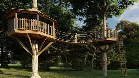 Use your treehouse as a place to escape and relax. Picture: The Custom Cabin and Treehouse company