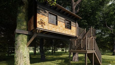 Zachary specialises in designing and building unique timber living spaces. Picture: The Custom Cabin