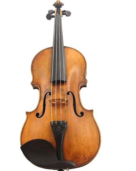 Italian violin by Joseph Gagliano of Naples dated 1785, hammer price £89,000. Picture: Adam Partridg