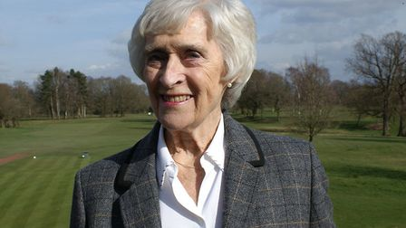Wendy Taylor, president of Wilmslow Golf Club
