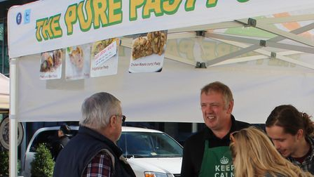 Nantwich's Mike Burgess launched the Pure Pasty Co in Vienna, Virginia in 2010. Photo: Mike Burgess