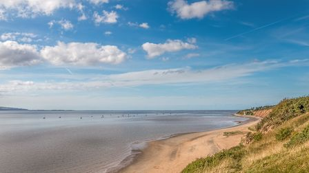 Thurstaston beach is a lovely walk with stunning views across the River Dee to North Wales. It's als